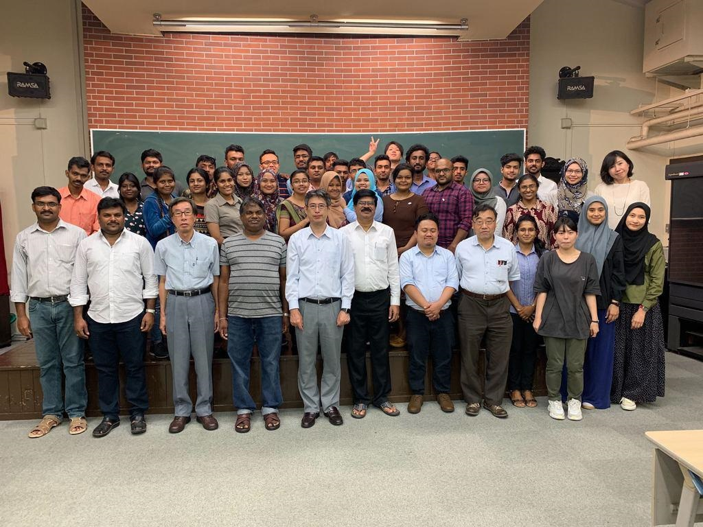 Five Postgraduate students and Principle Reseracher (AP Dr. Mohd Khairul Ahmad) of MiNT-SRC attended Sakura Science Program organized by Shizuoka University, Japan- October 2019